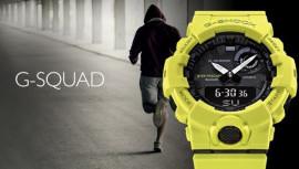 Adună, evaluează. Noutățile G-Shock G-Squad GBA 800 vor iubi nu numai atleții