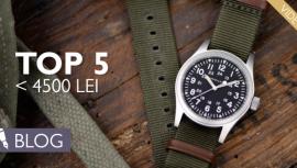 Cele mai bune ceasuri bărbăteşti până în 4500 LEI? În ofertă este balansierul din siliciu şi legenda din oţel