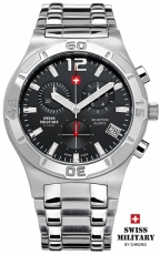 SWISS MILITARY CHRONO 20072ST-1M