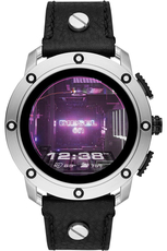 DIESEL Axial Smartwatch Black Leather DZT2014